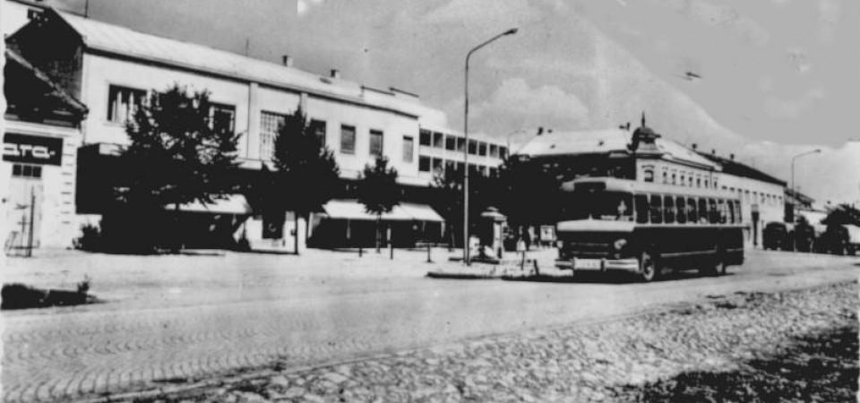 Centar,Stara Pazova, 1969.godine