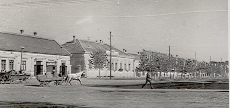 Centar, Stara Pazova, početak 20.veka (fotografije VHV-a)