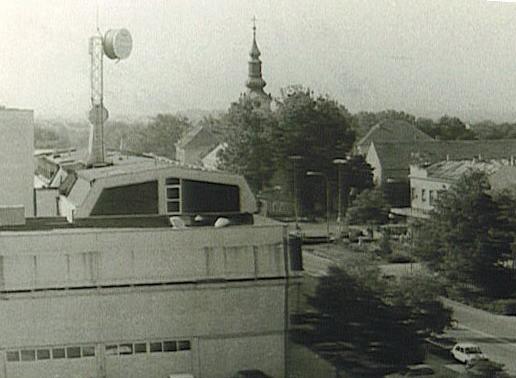 Pošta, Stara Pazova, 1982.godine