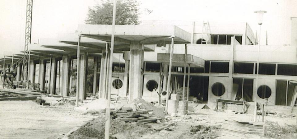 Autobuska stanica, Stara Pazova,1979.godine