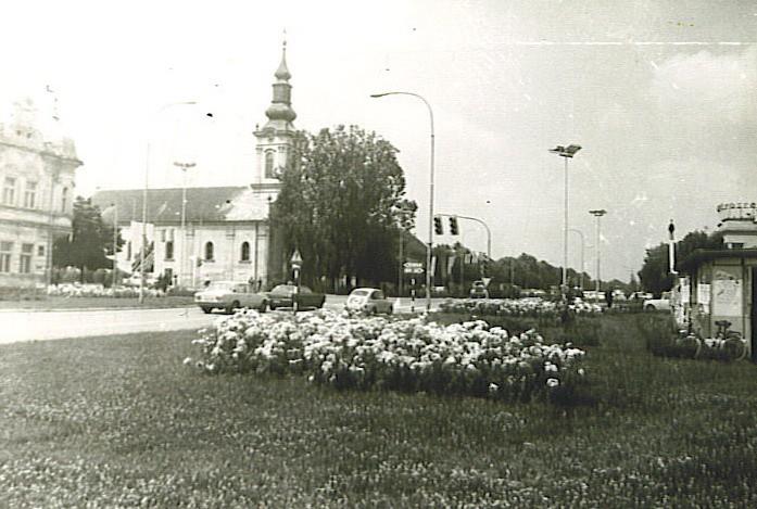 Centar, Stara Pazova, 1979.godine