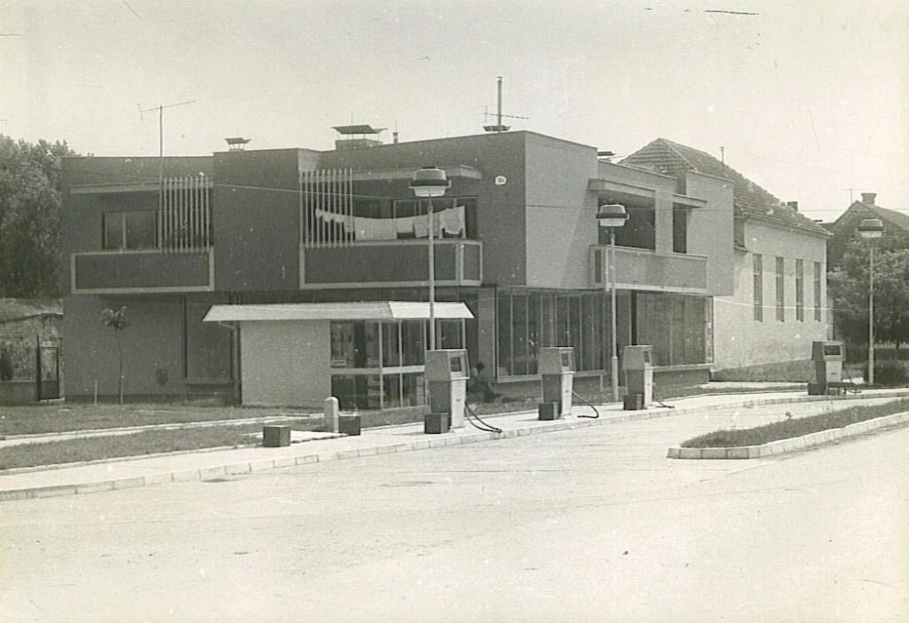 Benzinska pumpa, Golubinci, 70-tih godina XX veka