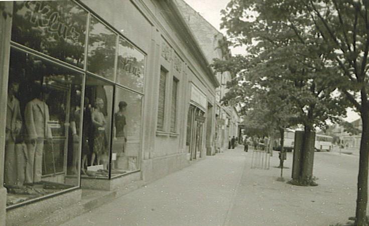 Centar, Stara Pazova, druga polovina XX veka