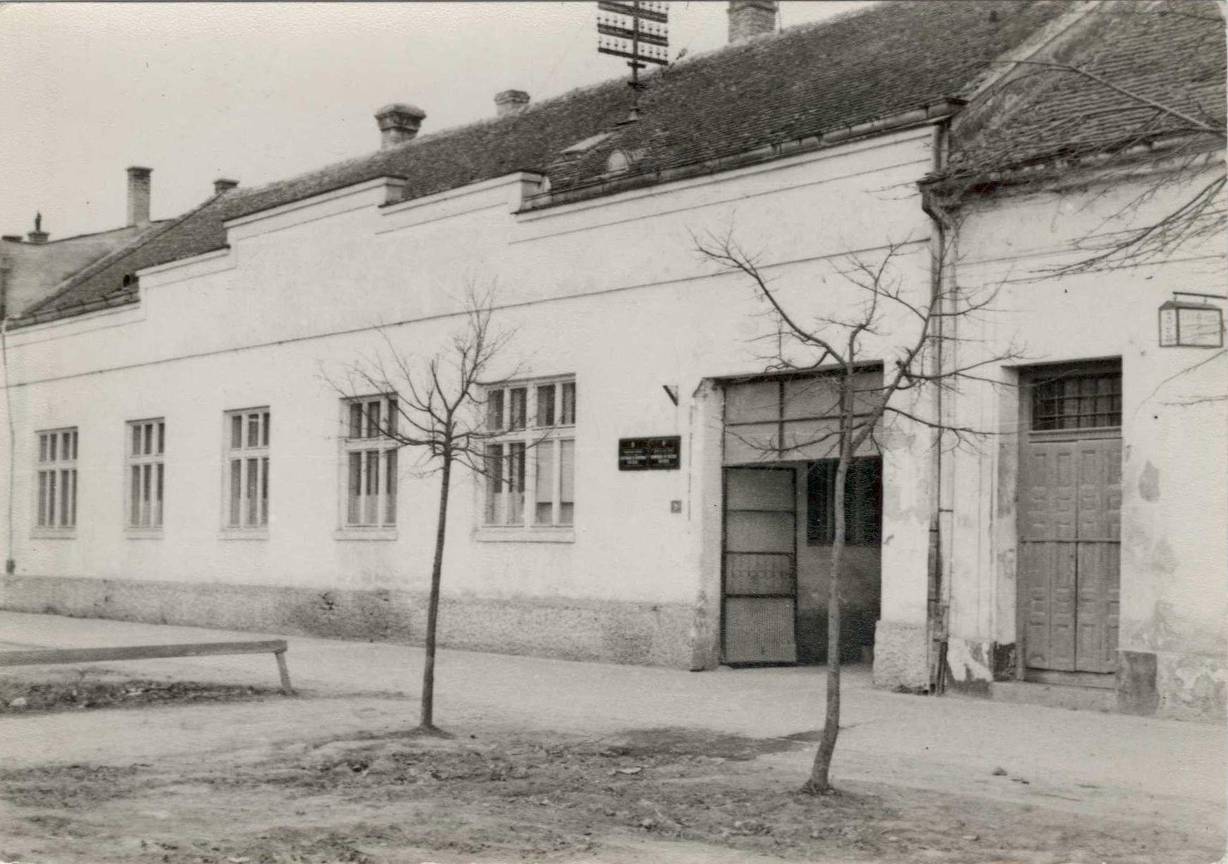 Zgrada stare opštine, Stara Pazova, druga polovina 20. veka