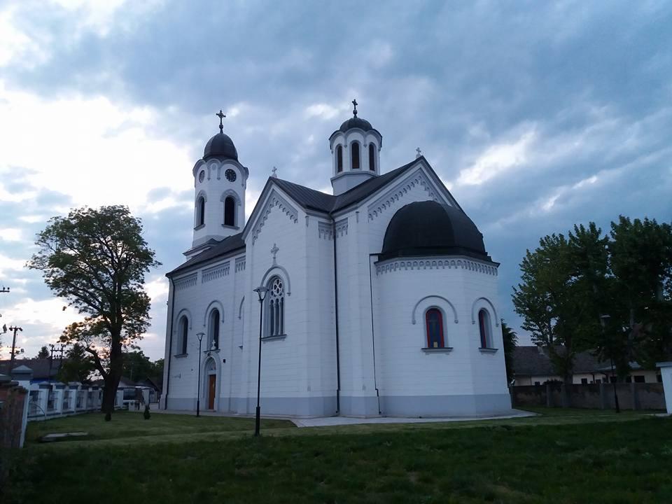 Hram prenosa moštiju svetog oca Nikolaja (1924), Belegiš