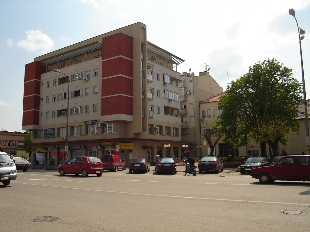 Centar, Nova Pazova, danas
