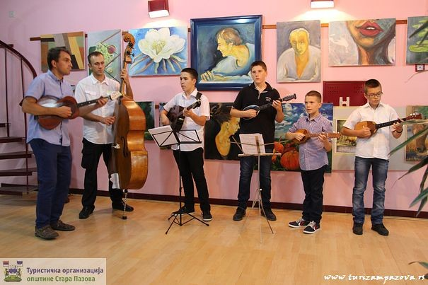 Tamburaški orkestar mr Ljubinka Lazića iz Vojke
