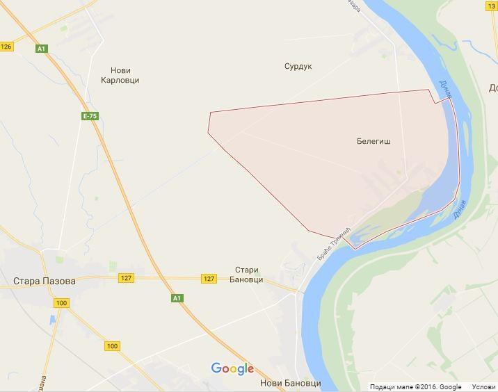 Google mapa: Belegiš