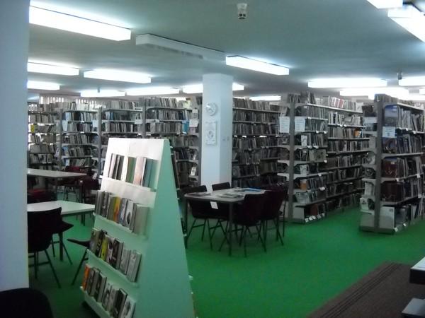 Čitaonica biblioteke Dositej Obradovic- Stara Pazova