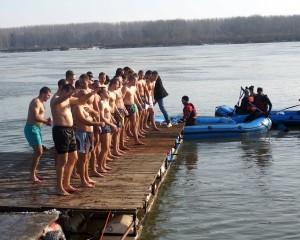 Пливање за Часни крст - Стари Бановци 2016