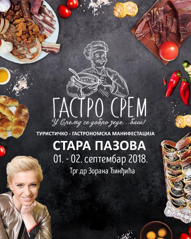 """Zaštitno lice manifestacije """"Gastro Srem"""" glumica Anja Mit"""