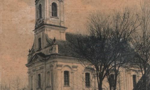 Na staroj razglenici iz Stara Pazove iz prve polovine 20.veka nalazi se srpska pravoslavna crkva Svetog Ilije Proroka, porta je ograđena drvenom ogradom.U desnom  pored natpisa na srpskom stoji i natpisa na nemačkom jeziku Serbische Kirche,Alt Pazna.