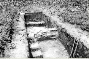 Lokalitet- Brestove međe u toku arheoloških istraživanja (Muzej grada Beograda)