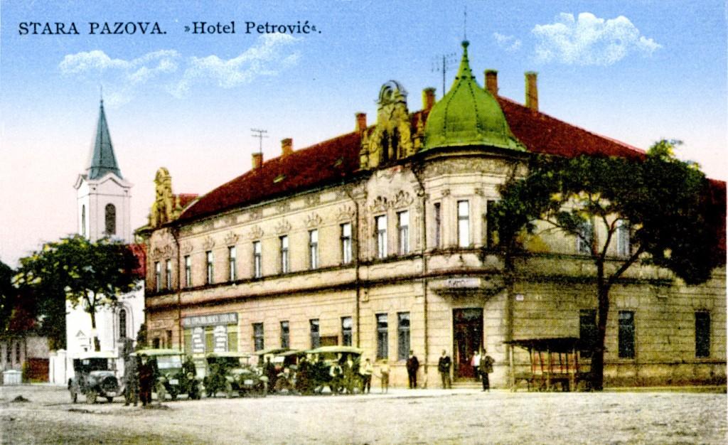 Zgrada hotela Petrović (1905.god.), Stara Pazova