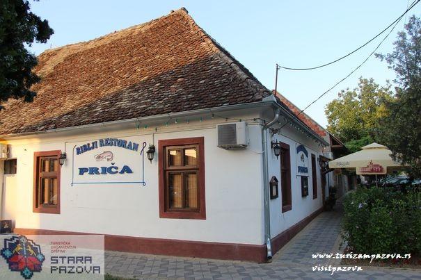 Das Haus (Menzulana) in der Straße Svetosavska in Novi Banovci