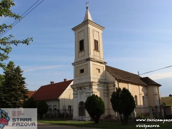 Rimokatolička crkva Rođenja Blažene Djevice Marije (XVIII vek)  — Novi Banovci