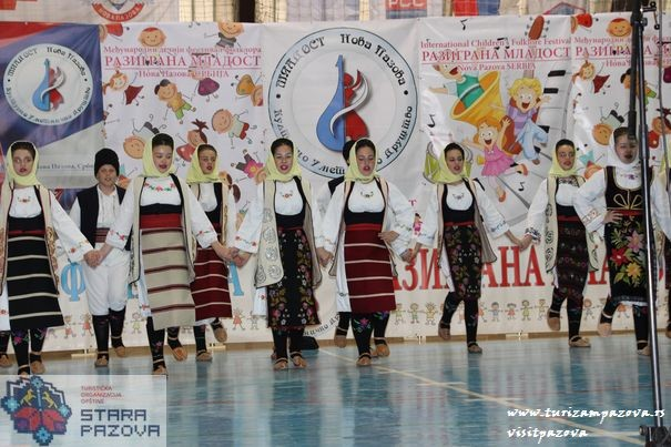 """Međunarodni festival folklora """"Razigrana Mladost""""- Nova Pazova"""