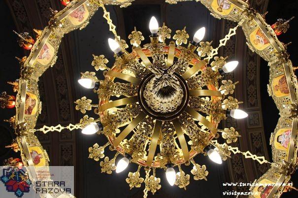Polijelej u pravoslavnom hramu u Golubincima