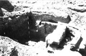 Lokalitet- Brestove međe, ostaci zidova rimskog objekta (Muzej grada Beograda)