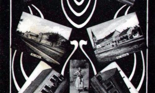 Na staroj razglednici Stare Pazove (Alt Pazna) iz prve polovine 20.veka nalazi se: zgrada kotarskog suda, slovačka evangelička crkva iz 18.veka (pod zaštitom države), Vlčekova kuća, škola, parohijski dom evangeličke crkve i devojka u slovačkoj nošnji.