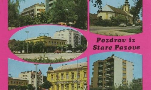 Stara Pazova 80-tih godina 20. veka