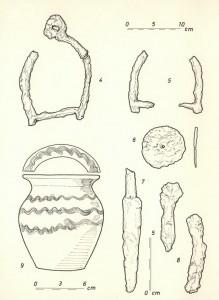 Sl.br.12- Pronađeni arheoloških predmeti sa lokaliteta Brdašica, Vojka (nepublikovano, dokumentacija Muzej grada Beograda)
