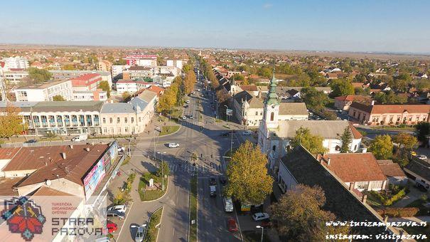 Centar, Stara Pazova, danas