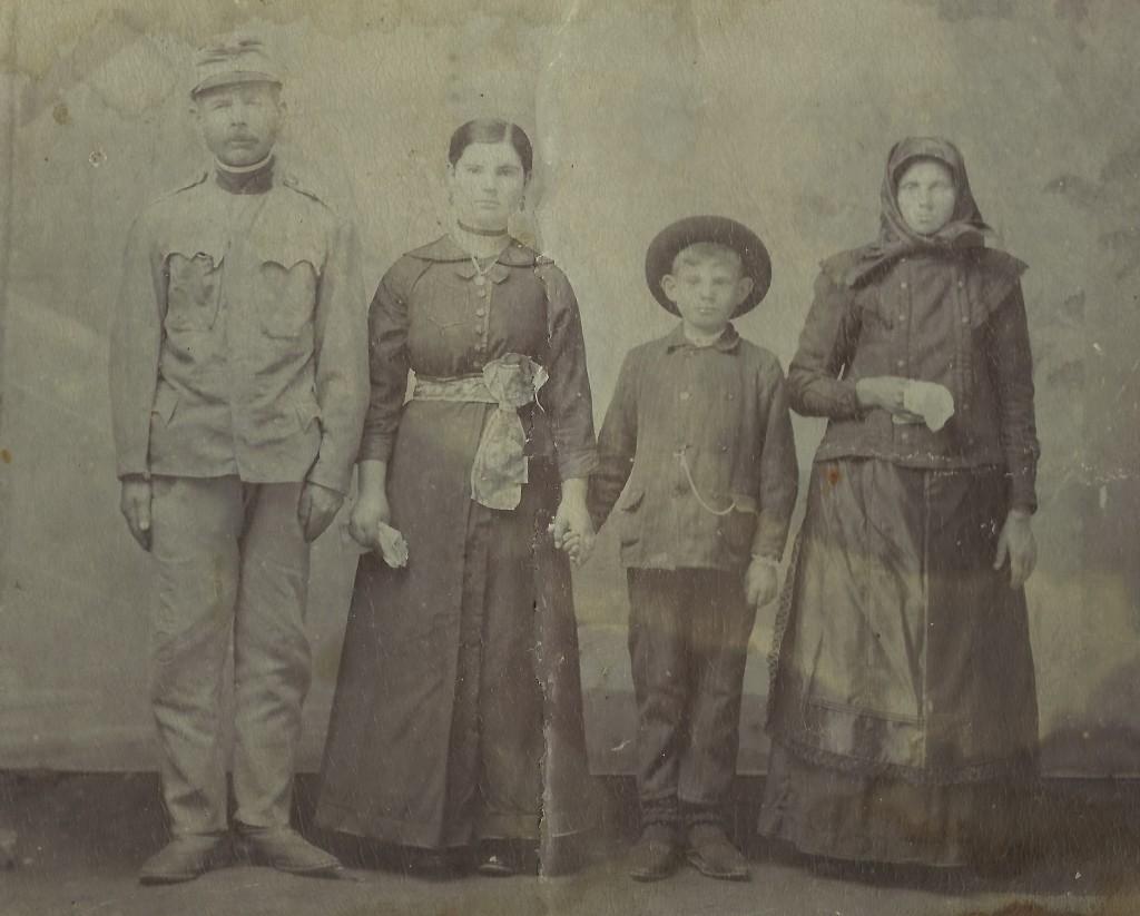Porodica Ekmedžić iz Vojke, prva polovina 20. veka