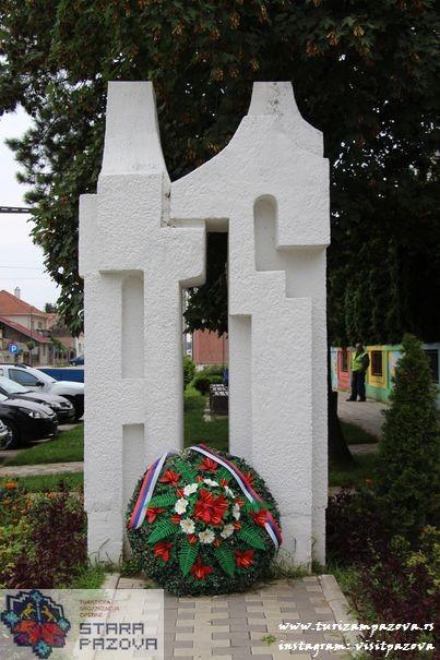 Spomenik palim borcima narodnooslobodilačkog rata i žrtvama fašističkog terora u Novim Banovcima