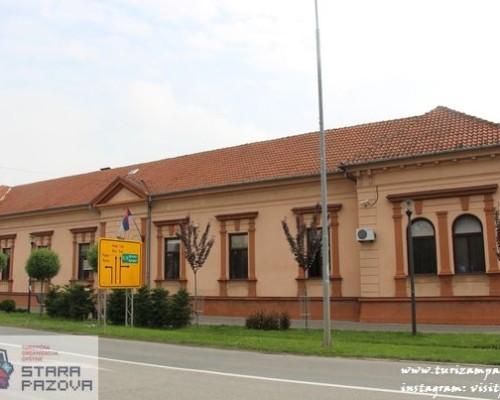 Zgrada suda (druga polovina XIX veka), Stara Pazova
