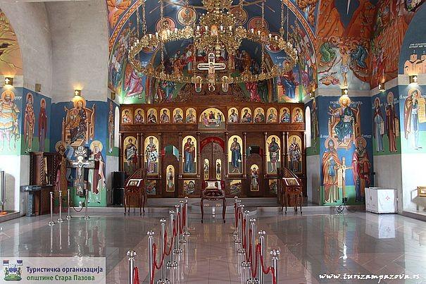 Hram Sv. Vasilija Ostroškog Čudotvorca — Novi Banovci