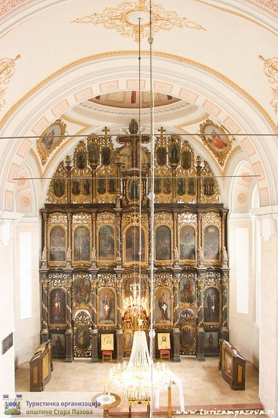 Ikonostas u crkvi Svetog oca Nikolaja u Surduku (1816)