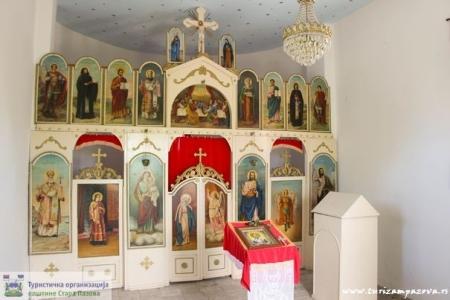 Olatar  u zavetnoj kapeli – vodica iz XIX veka