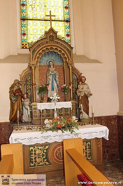Oltar Svete Ane iz 1911. godine u rimokatoličkoj crkvi Svetog Jurja