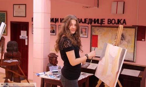 "Likovna kolonija ""Kosmik Art – Ljubiša Marić"""
