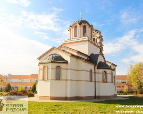 Hram Pokrova Presvete Bogorodice (2007) — Stara Pazova