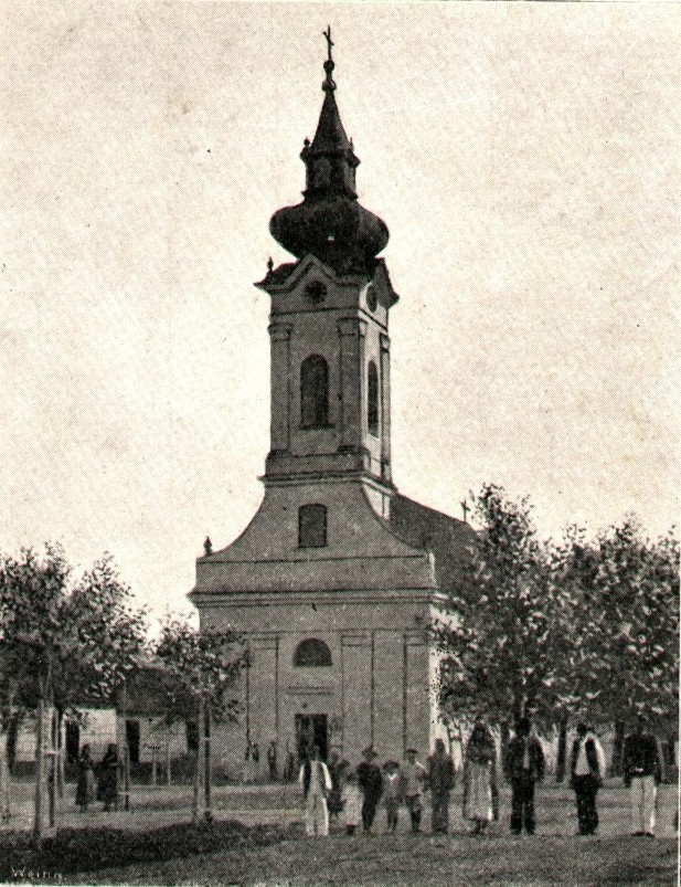 Evangelistička crkva, Nova Pazova, prva polovina XX veka