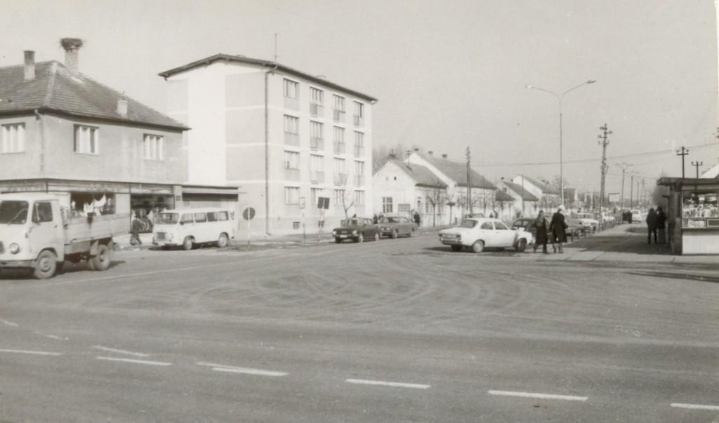 Centar, Nova Pazova, 70-tih godina XX veka