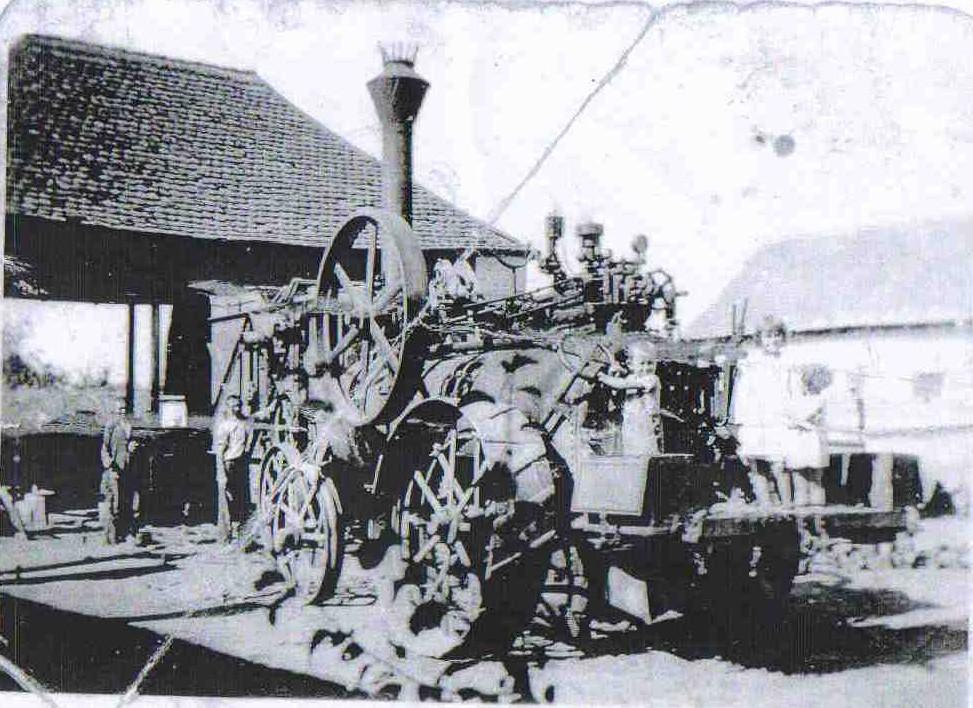 Parna mašina, Vojka, prva polovina 20. veka