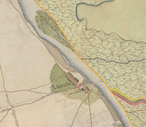 Slika br.1: Mapa Surduka (1763-1787), Mađarski arhiv