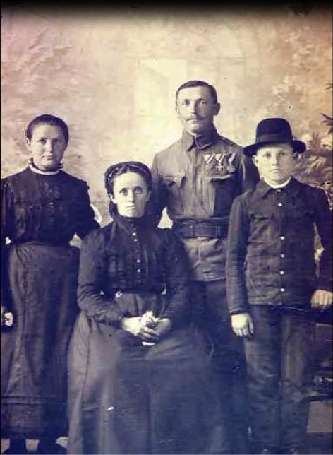 Nemacka porodica, Novi Banovci, prva polovina XX veka