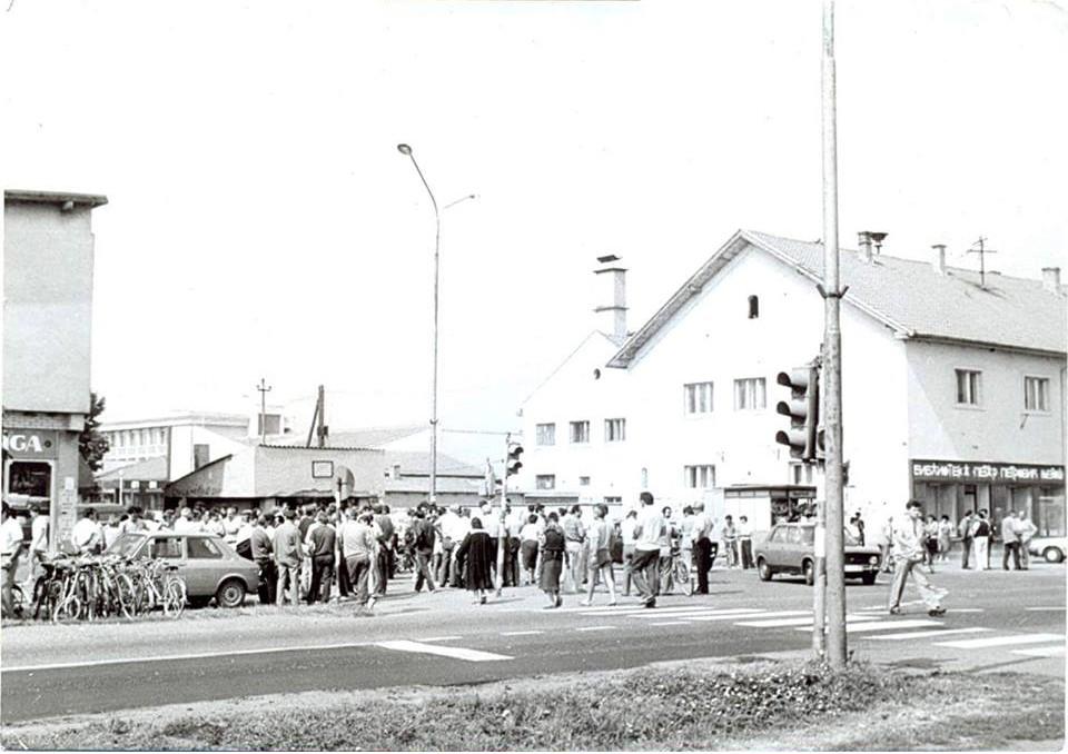 Centar, Nova Pazova, 80-tih godina XX veka