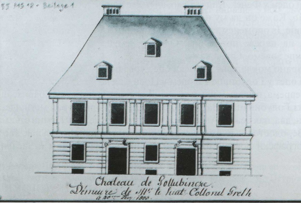 Crtež Šlosa (1767), Golubinci (Državna biblioteka u Berlinu)