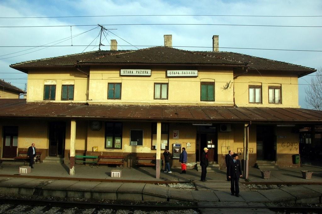 Zgrada železničke stanice u Staroj Pazovi