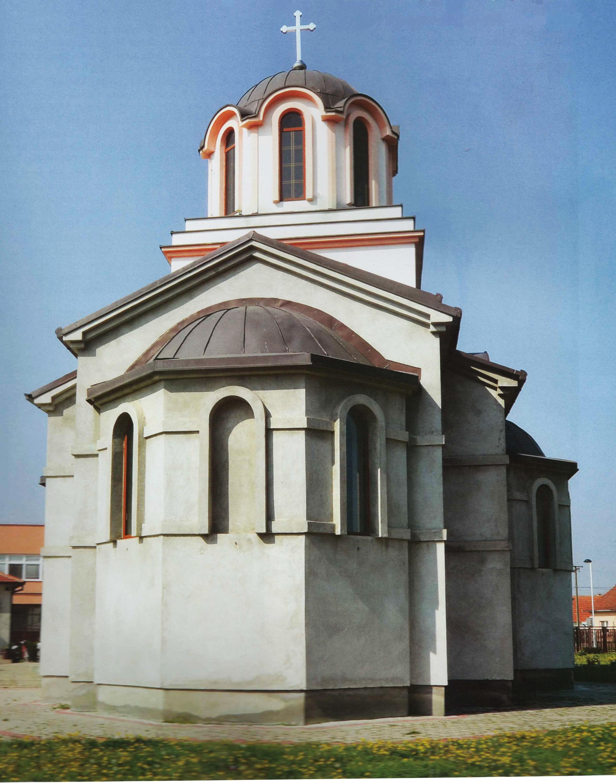 Hram Pokrova Presvete Bogorodice, Stara Pazova