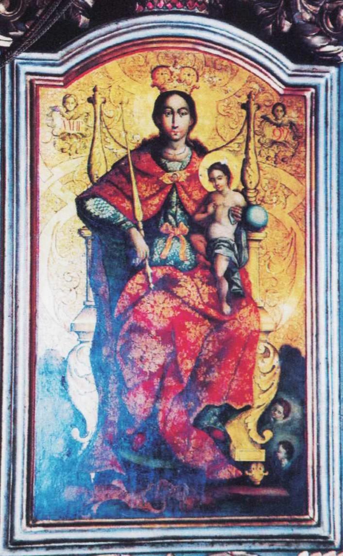 Bogorodica sa Hristom (Dimitrije Bačević)