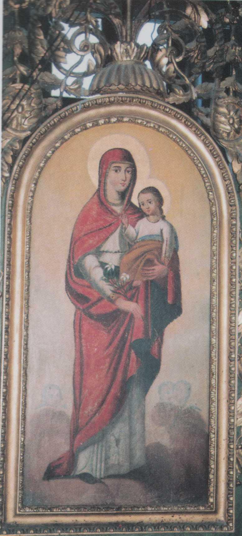Bogorodica sa Hristom ( Petar Čortanović