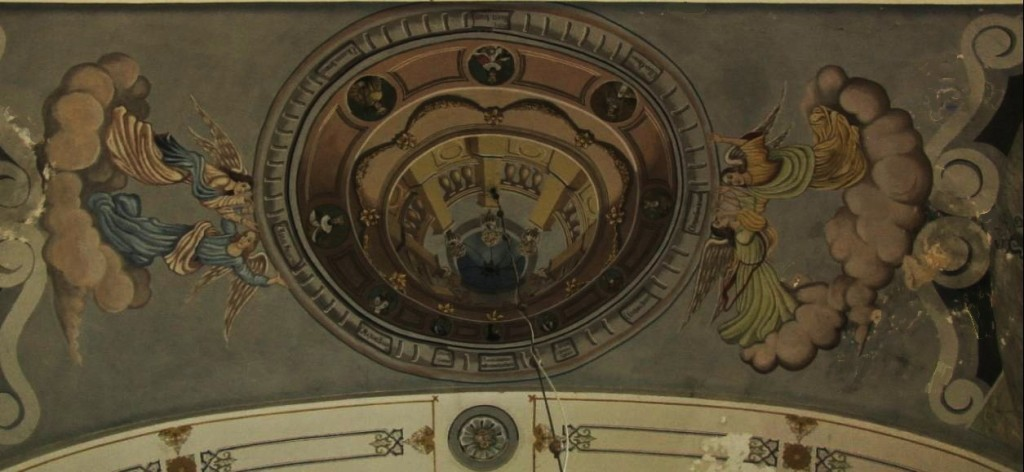 Kupola sa medaljonima portreta 10 svetitelja