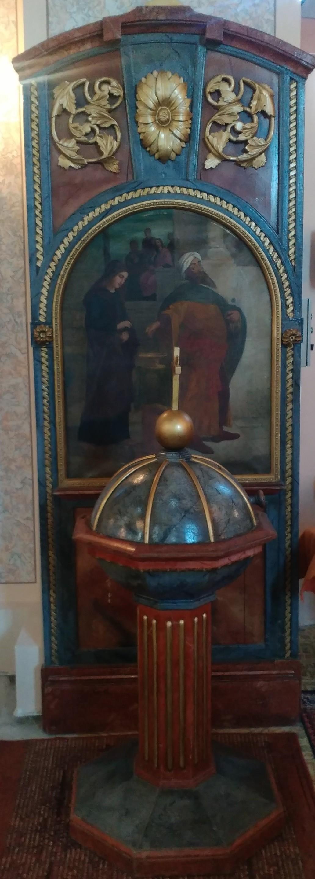 Slika Udovica prilaže leptu, XIX vek