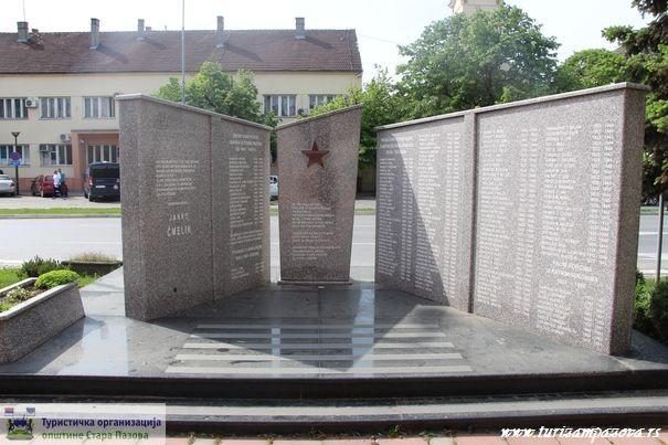 Spomenik žrtvama fašističkog terora iz Stare Pazove od 1941-1945. u Staroj Pazovi